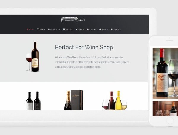VisualModo Winehouse WordPress Theme