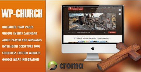 WP-Church - Powerful Theme For Churches