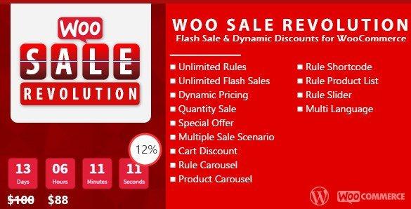 Woo Sale Revolution - Flash Sale Dynamic Discounts