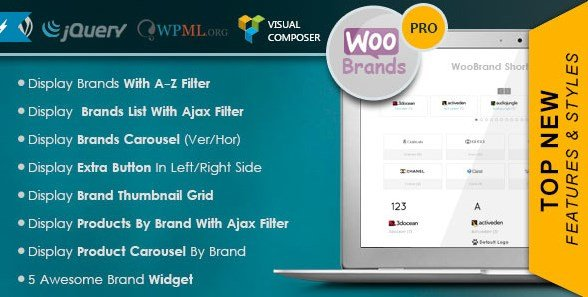 WooCommerce Brands By Proword