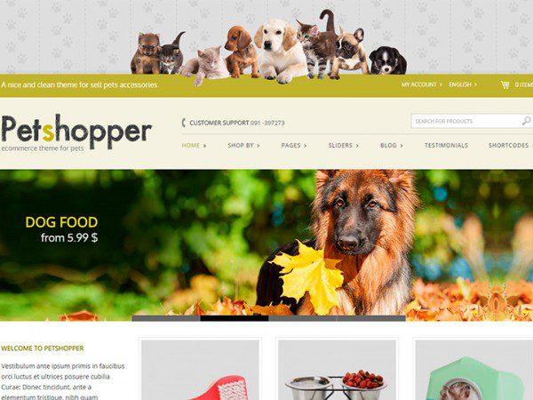 YITH Petshopper Premium WooCommerce Themes