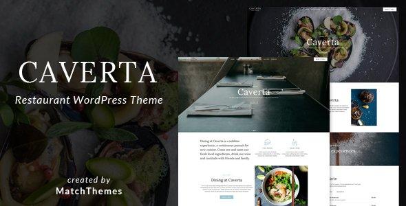 Caverta - Fine Dining Restaurant Theme