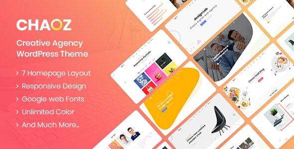 Chaoz - Creative Portfolio WordPress Theme For Agency