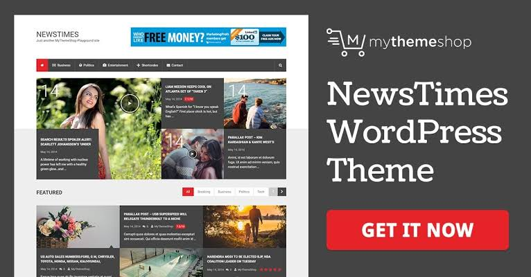 MyThemeShop NewsTimes WordPress Theme