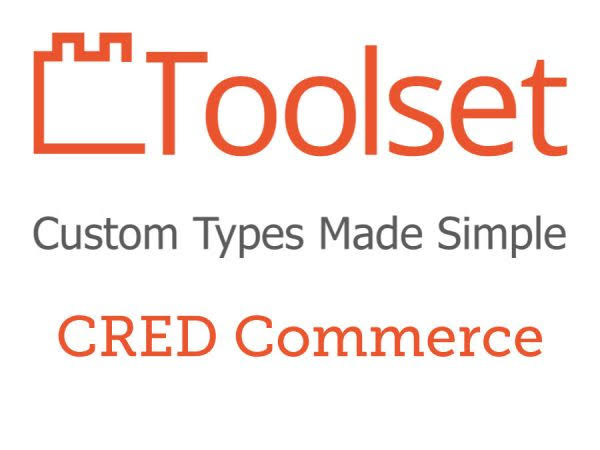 Toolset CRED Commerce