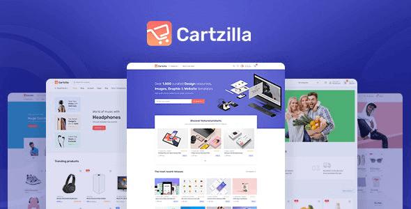 Cartzilla - Digital Marketplace & Grocery Store WordPress Theme