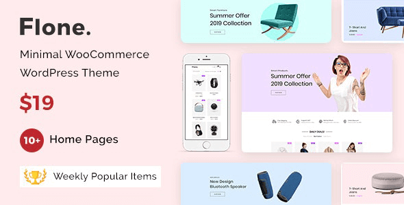 Flone - Minimal WooCommerce WordPress Theme