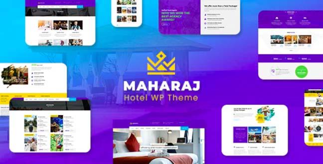 Maharaj - Hotel Master WordPress Theme