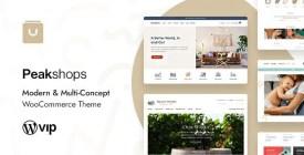 PeakShops - Modern - Multi-Concept WooCommerce Theme