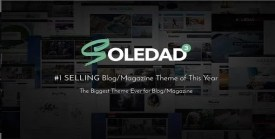 Soledad - Multi-Concept Blog Magazine News AMP WordPress Theme