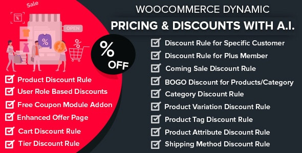 WooCommerce Dynamic Pricing - Discounts with AI