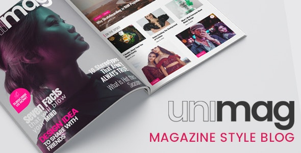 Anymag - Magazine Style WordPress Blog Download