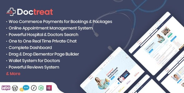 Doctreat - Doctors Directory WordPress Theme