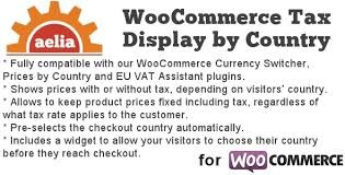 Aelia Tax Display by Country for WooCommerce