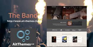 Ait Band WordPress Theme