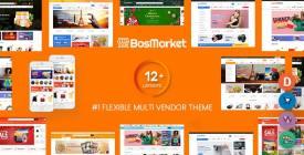 BosMarket - Flexible Multivendor Woo WPr Theme ( Indexes + Mobile Layouts)