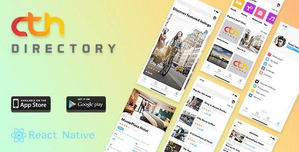 CTH Directory - React Native mobile apps GPL