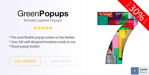 Green Popups - Popups for WordPress