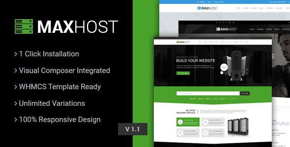 MaxHost - Web Hosting
