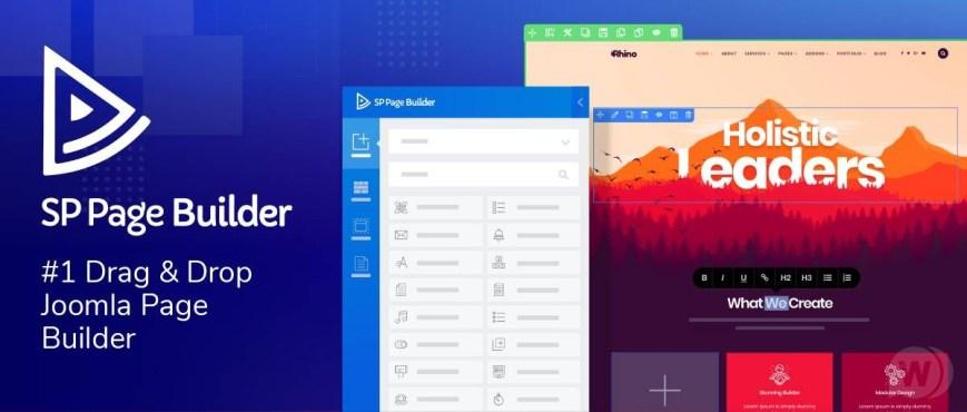 SP Page Builder Pro - Joomla Page Designer Template + Addons