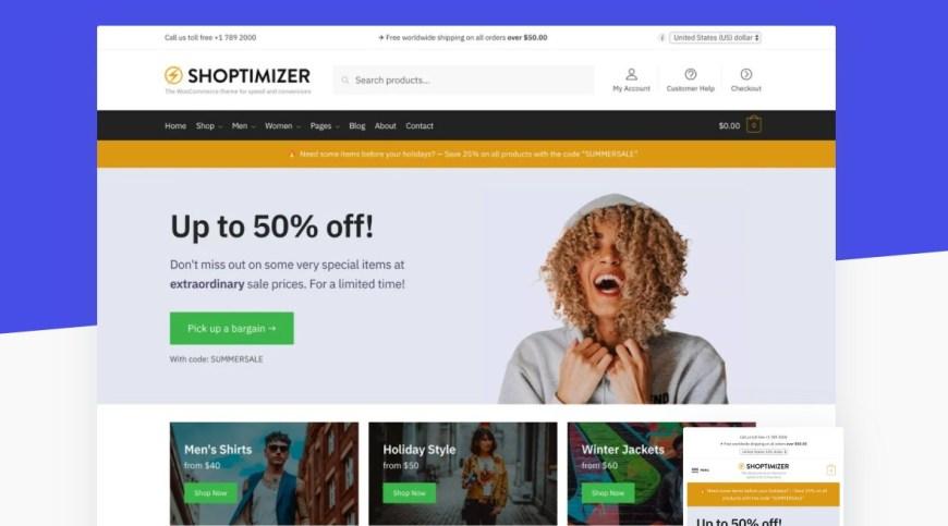 Shoptimizer Optimize your WooCommerce store