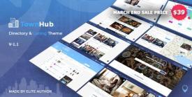 TownHub - Directory - Listing WordPress Theme