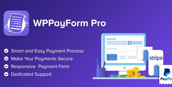 WPPayForm Pro - WordPress Payments Made Simple