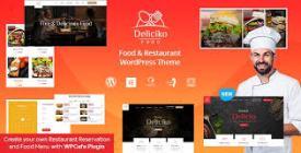 Deliciko- Restaurant WordPress Theme