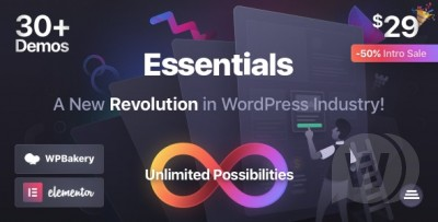 Essentials Multipurpose WordPress theme