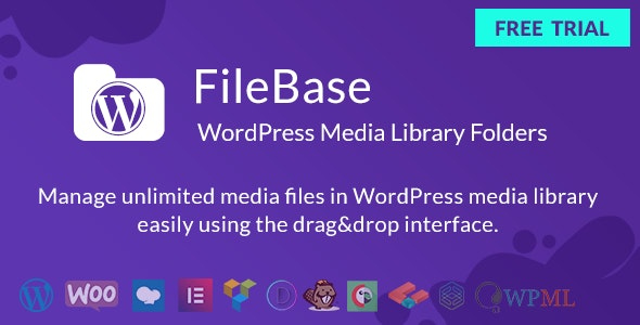 FileBase - WordPress Media Library Folders