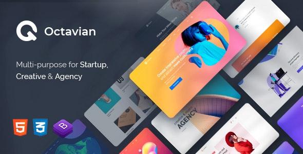 Octavian - Multipurpose Creative HTML Template