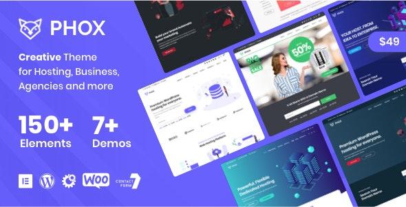 Phox - Hosting WordPress - WHMCS Theme