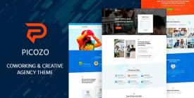 Picozo Coworking and Office Space WordPress Theme