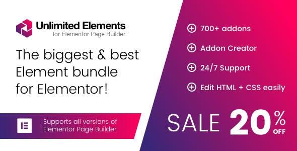 Unlimited Elements for Elementor Page Builder (Premium)