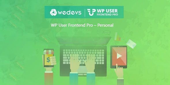 WeDevs- WP User Frontend Pro Business