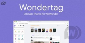 Wondertag - Best WoWonder Theme