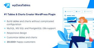 wpDataTables - Tables and Charts Manager for WordPress