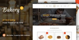 Bakery - WordPress Cake - Food Theme