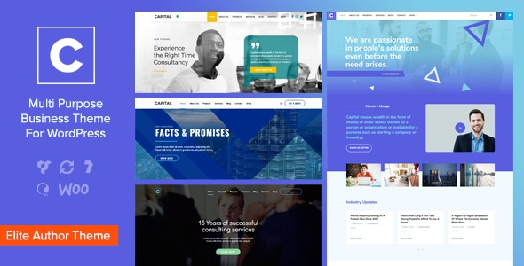 Capital - Multi Purpose Business WordPress Theme