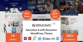Educavo - Online Courses - Education WordPress Theme