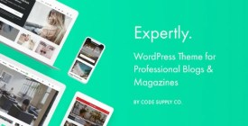Expertly - WordPress Blog - Magazine Theme for Professionals