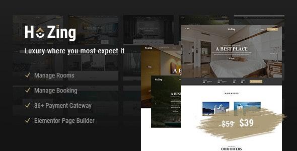 Hozing - Hotel Booking WordPress Theme