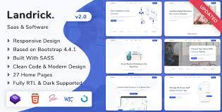 Landrick - Saas - Software Landing Page Template