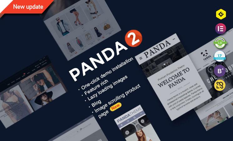 Panda PrestaShop Template - Creative PrestaShop Template