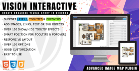 Vision Interactive- Image Map Builder for WordPress