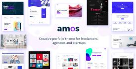 Amos - Creative WordPress Theme