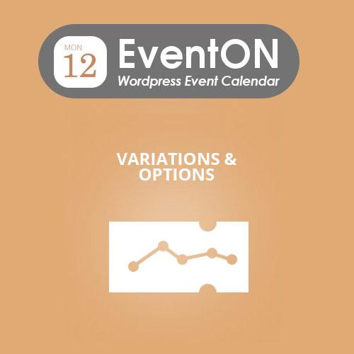 EventON Ticket Variations - Options
