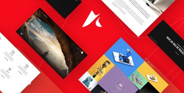 AnchordCreative Agency Portfolio and Freelancer WordPress Theme