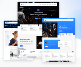 Lapetus - One Page Template For Coaching and Personal Trainers
