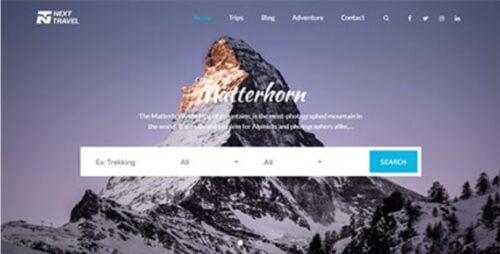 Next Travel Pro - Theme Palace WordPress Theme